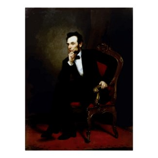 President Lincoln Painting print