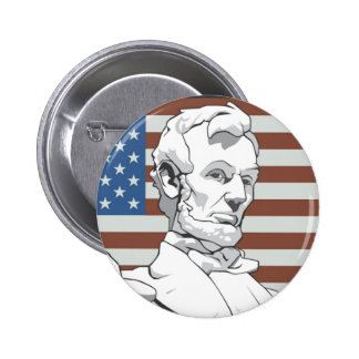 President Lincoln Pinback Button
