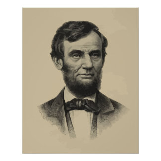 President Lincoln Posters