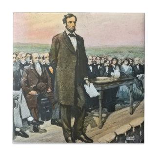President Lincoln Recites the Gettysburg Address V Tiles