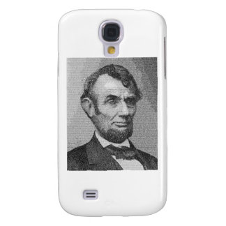 President Lincoln Render w/the Gettysburg Address Galaxy S4 Cases
