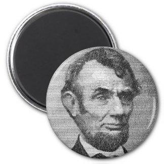 President Lincoln Render w/the Gettysburg Address Magnet