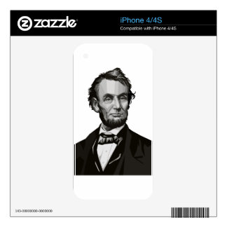 President Lincoln Skins For The iPhone 4