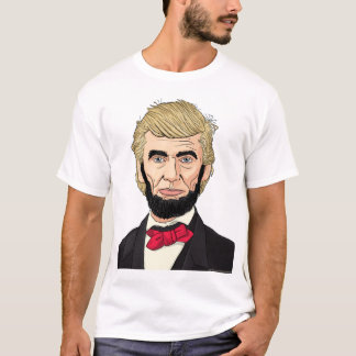 President Lincoln with Trump's Hair T-Shirt