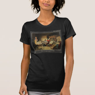 President Lincoln Writing Proclamation of Freedom T Shirt