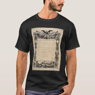 President Lincoln's 1863 Emancipation Proclamation T-Shirt