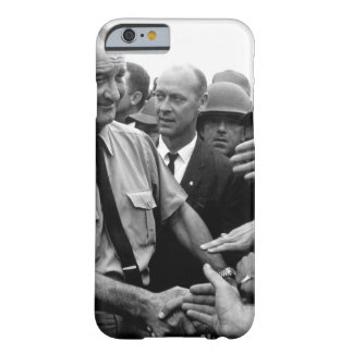 President Lyndon B. Johnson greets American troops Barely There iPhone 6 Case