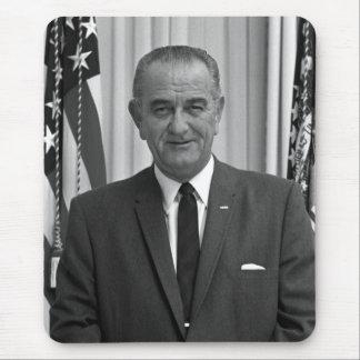 President Lyndon Johnson Mouse Pad