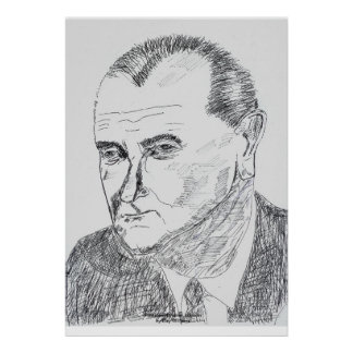 President Lyndon Johnson Print