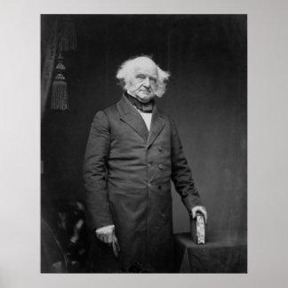 President Martin Van Buren Poster