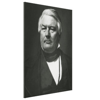 PRESIDENT MILLARD FILLMORE Daguerreotype Print Gallery Wrap Canvas