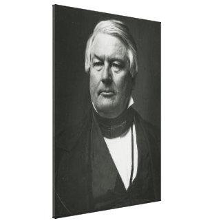 PRESIDENT MILLARD FILLMORE Daguerreotype Print Canvas Print