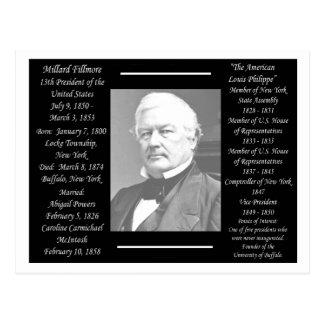 President Millard Fillmore Postcard