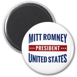 President Mitt Romney 2 Inch Round Magnet