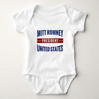 President Mitt Romney Baby Bodysuit