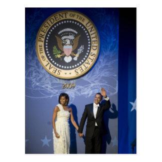 President & Mrs. Obama Postcard