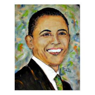 President Obama (2008) Portrait Postcards