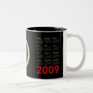 President Obama 2009 Calendar Coffee Mug