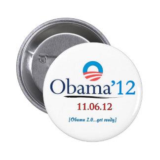 President Obama 2012 Campaign Button