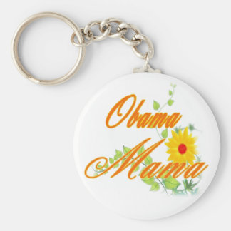 President Obama 2012 Campaign Launch Basic Round Button Keychain