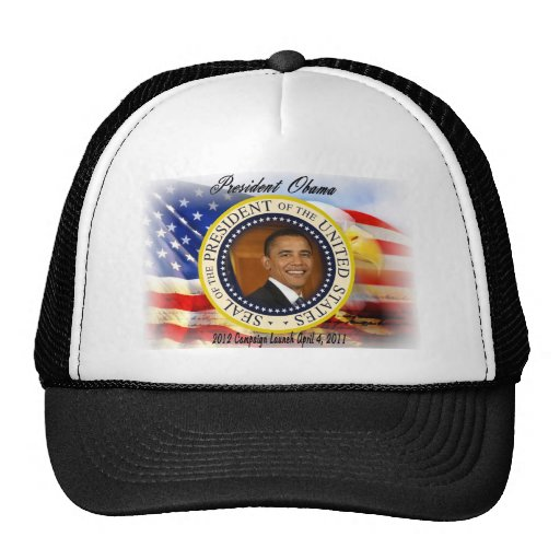 President Obama 2012 Campaign Launch Trucker Hat