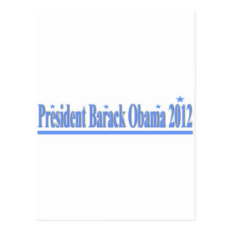 President Obama 2012 Postcard