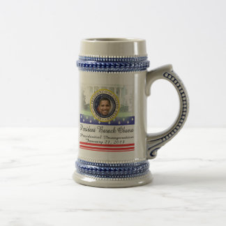 President Obama 2012 Re-election Beer Stein