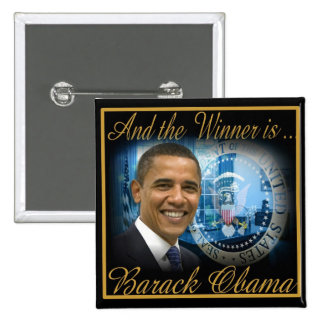 President Obama 2012 Re-election Button