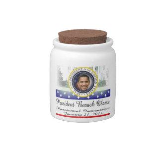 President Obama 2012 Re-election Candy Jars