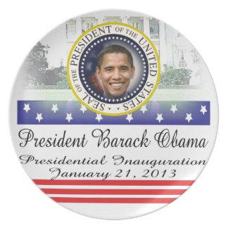 President Obama 2012 Re-election Dinner Plate