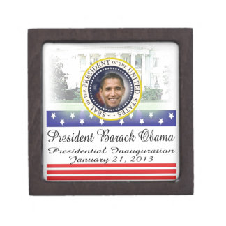 President Obama 2012 Re-election Jewelry Box
