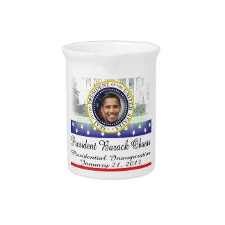 President Obama 2012 Re-election Pitcher