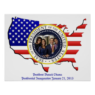 President Obama 2012 Re-election Poster