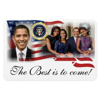 President Obama 2012 Re-election Rectangular Photo Magnet