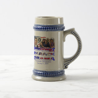 PRESIDENT OBAMA 2013 Inauguration Beer Stein