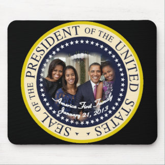PRESIDENT OBAMA 2013 Inauguration Mouse Pad