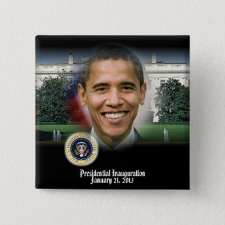 PRESIDENT OBAMA 2013 Inauguration Pinback Button
