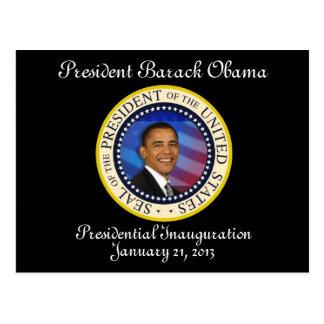 PRESIDENT OBAMA 2013 Inauguration Postcard