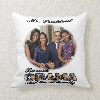 PRESIDENT OBAMA 2013 Inauguration Throw Pillow