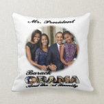 PRESIDENT OBAMA 2013 Inauguration Throw Pillows