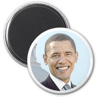 President Obama 2 Inch Round Magnet