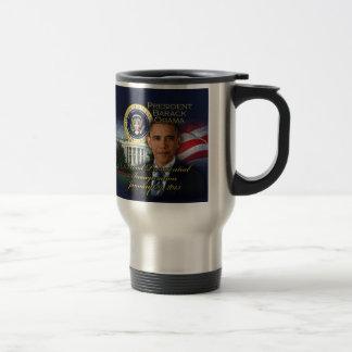 President Obama 2nd Inauguration 15 Oz Stainless Steel Travel Mug