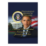 President Obama 2nd Inauguration 5x7 Paper Invitation Card