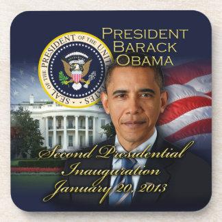 President Obama 2nd Inauguration Beverage Coaster