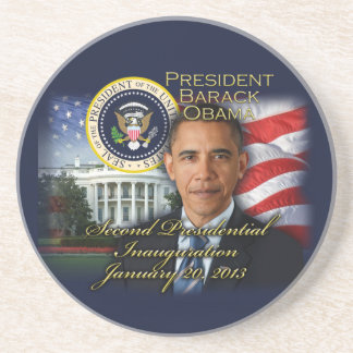 President Obama 2nd Inauguration Coaster