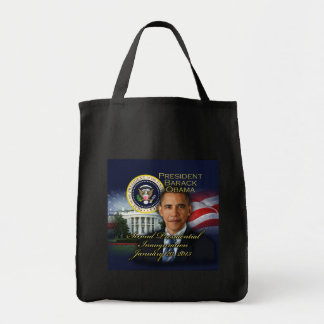 President Obama 2nd Inauguration Grocery Tote Bag
