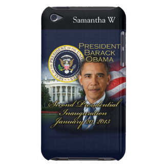 President Obama 2nd Inauguration iPod Touch Case-Mate Case