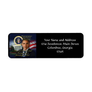 President Obama 2nd Inauguration Label