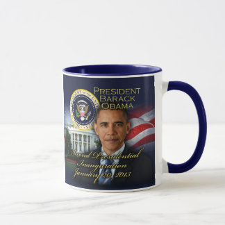 President Obama 2nd Inauguration Mug