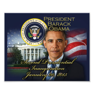 President Obama 2nd Inauguration Photo Print